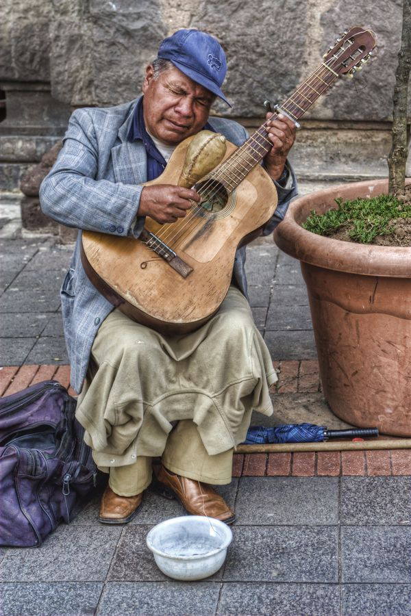 The Guitar Player by Nicolai McCrary, via 500px