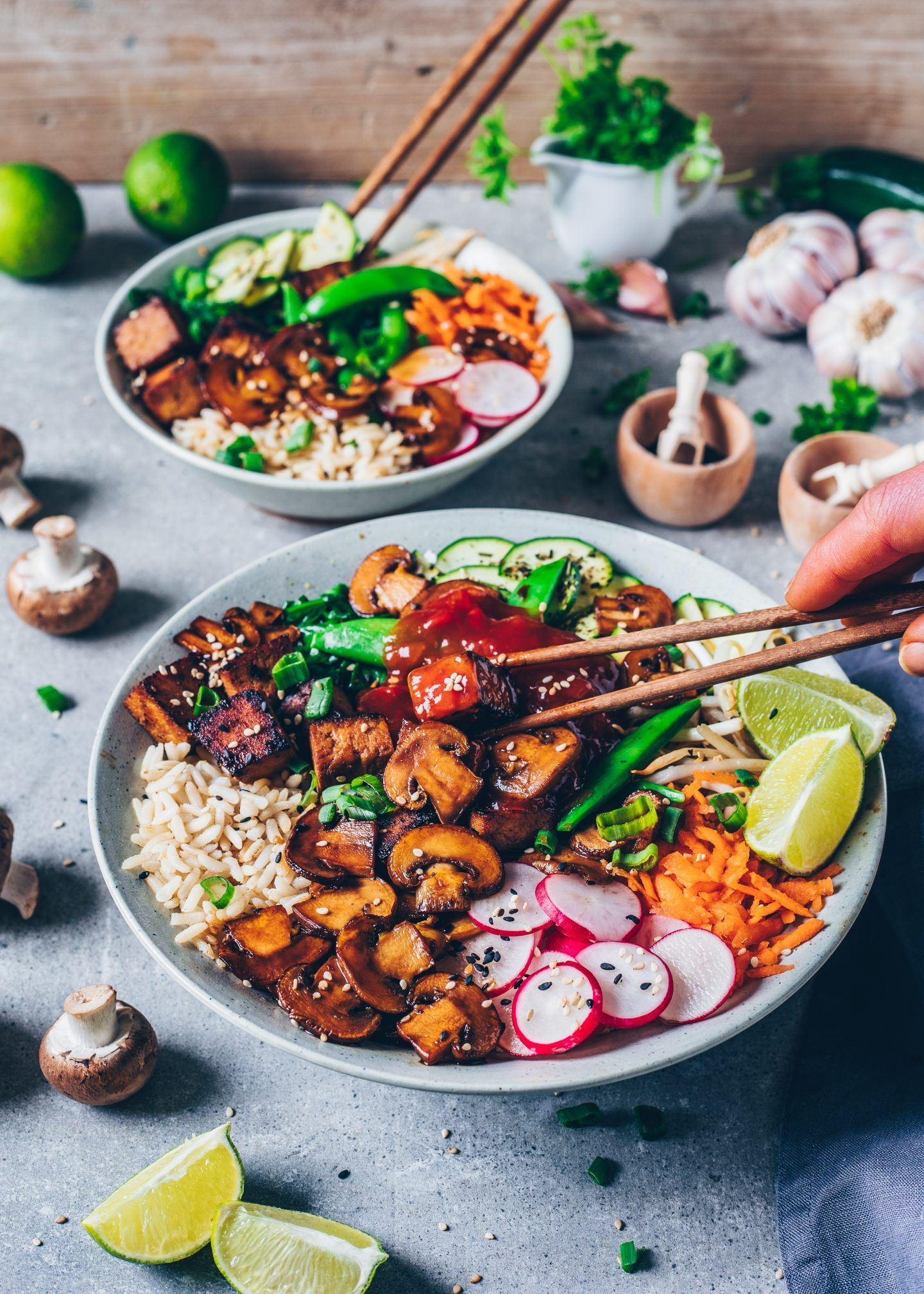 Photo of Koreanisches Bibimbap mit Tofu – Vegan – Bianca Zapatka | Rezepte