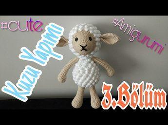 Amigurumi Bebek Gövdesi : Amigurumi kuzu nasıl yapılır bölüm pıtırcıklı kuzucuk gövde