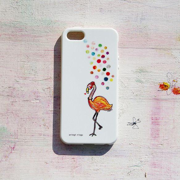 おしゃれなフラミンゴのiPhoneケースです。ソフトケースです。対応機種はiPhone 5/5Sのみとなっております。本体材質:熱可塑性ポリウレタン 印刷方法... ハンドメイド、手作り、手仕事品の通販・販売・購入ならCreema。