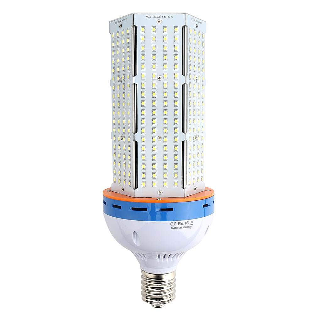 Lvjing 100w E39 Led Corn Light Bulb Large Mogul Screw Base 1000 Watt Replacement Street Area Lighting Daylight 6000k 12000lm Bulb Area Lighting Light Bulb