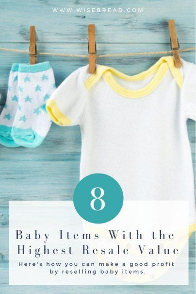 8 Baby Items With the Highest Resale Value (With images ...