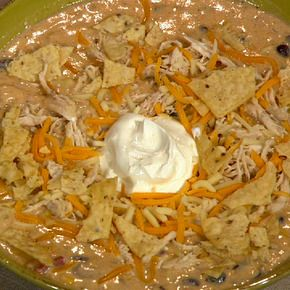Trisha yearwoods chicken tortilla soup this photo doesnt look trisha yearwoods chicken tortilla soup this photo doesnt look half as good as forumfinder Images