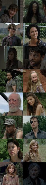 The Fallen of Season 4 ~ Rip ~ Gone But Not Forgotten ~  | The Walking Dead (AMC)