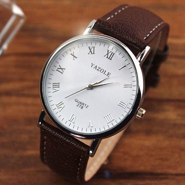 Unisex Wristwatch - Brown