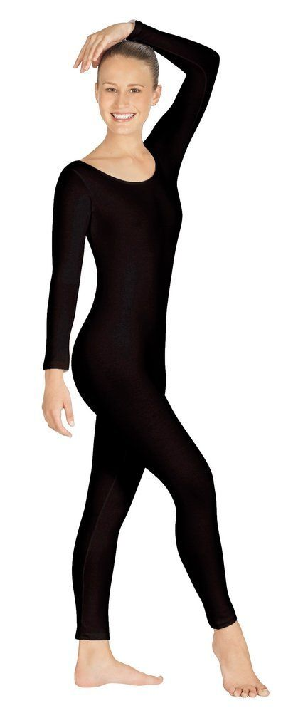 53da59267 Ensnovo Women Spandex Lycra Nylon Black Long Sleeve 44 Colors Custom ...