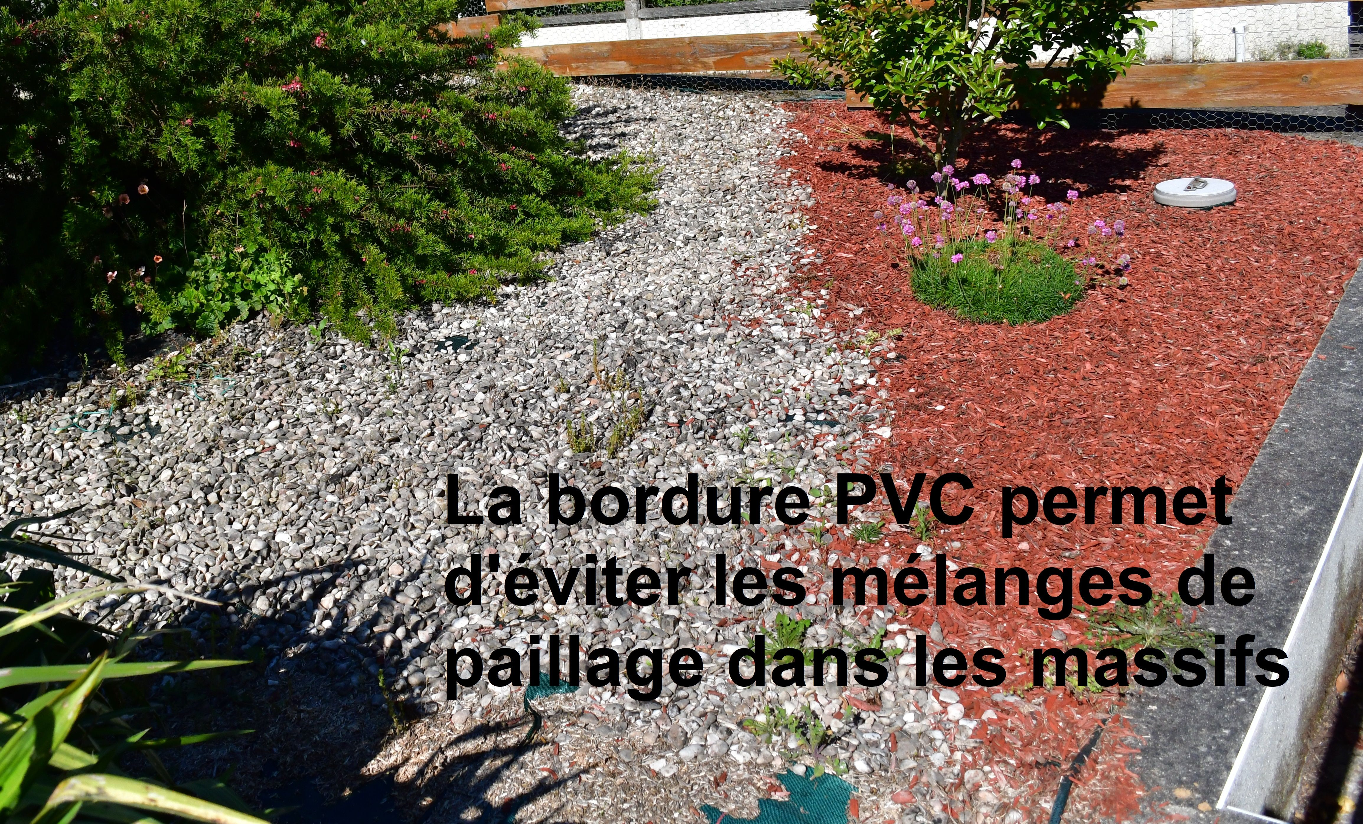 Bordure Volige Jardin Souple Delimitation Separation Paillage
