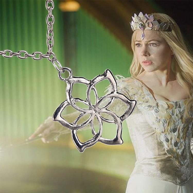 Galadriel flower necklacelord of the rings jewelry lord of the fashion galadriel queen lord of the rings elves hobbit flower pendant necklace in jewelry watches fashion jewelry necklaces pendants aloadofball Image collections