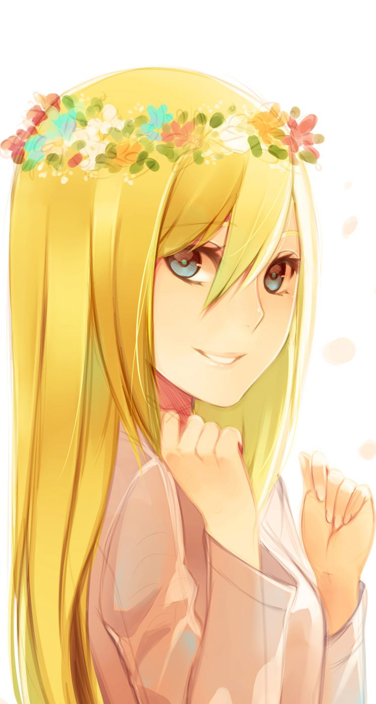 Krista Is So Pretty And Adorable She Is Ymir S Goddess 進撃