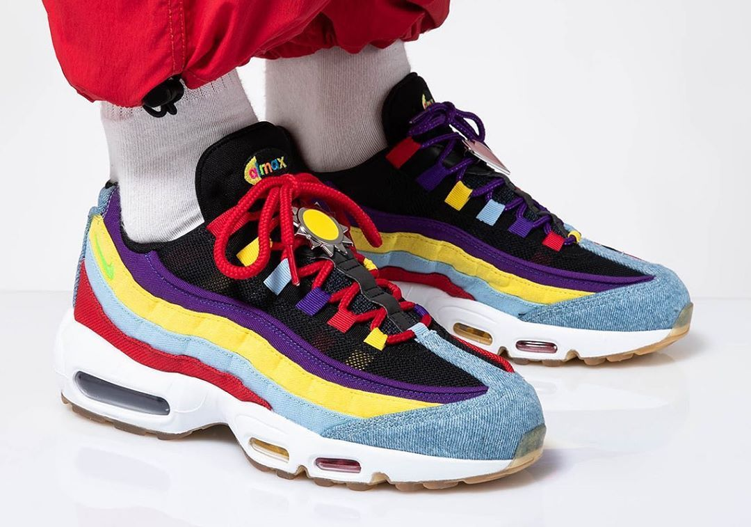 """Nike Airmax 95 x SP """"MultiColor"""" . If you like bright"""