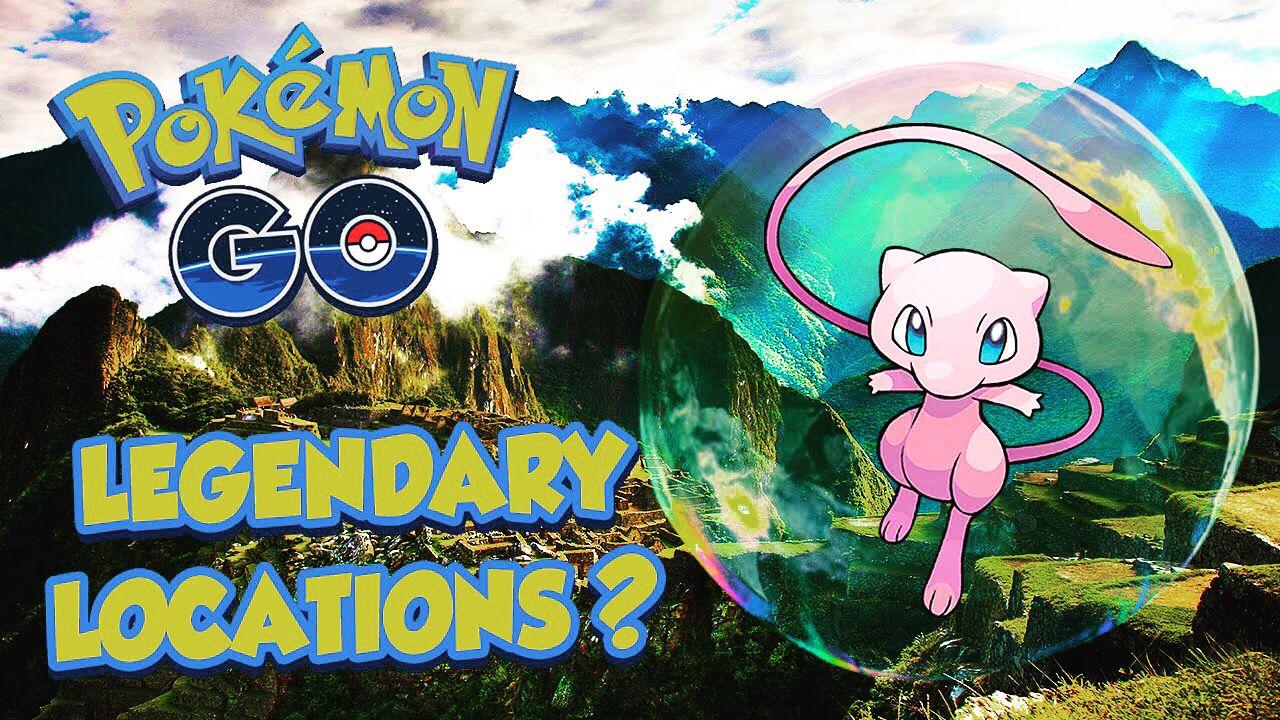 The legendary Pokemon any location available ? www