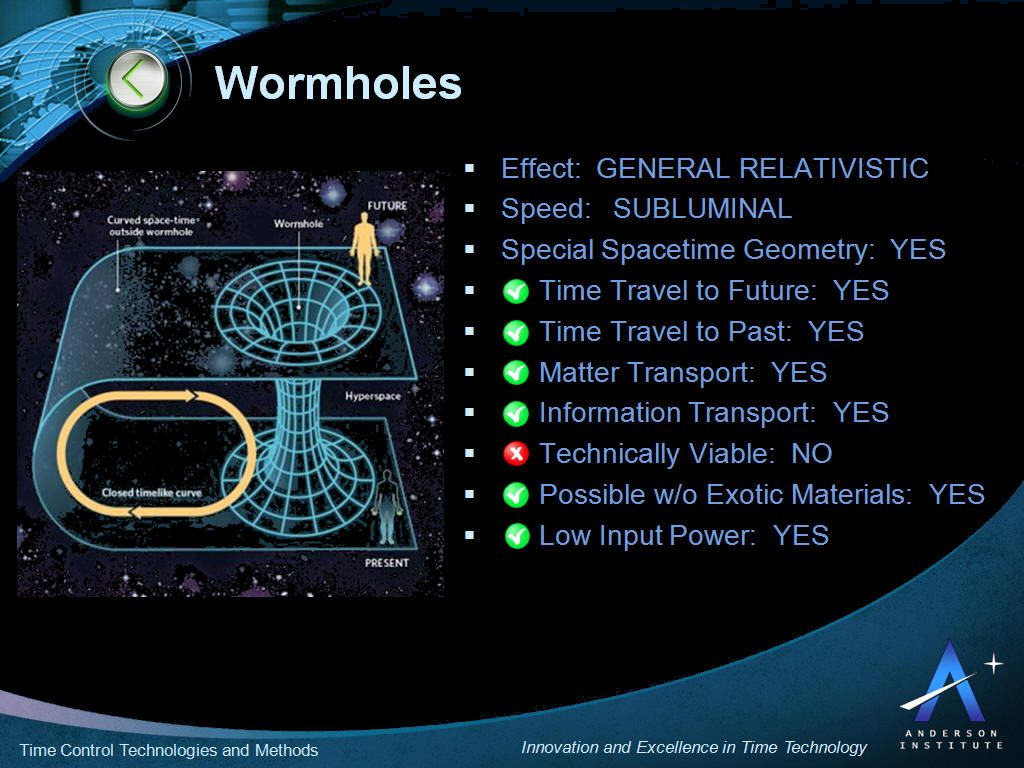 wormholes and interstellar travel an application Ah, wormholes the intergalactic shortcut a tunnel through space-time that  allows intrepid travelers to hop from star system to star system.