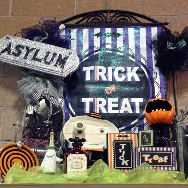 Halloween decor is one of our favorites to decorate! #Rodworks #decor #unique #seasonal decor