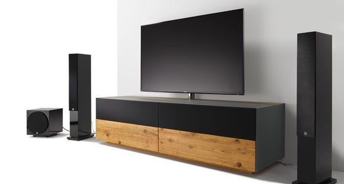 die flexiblen cubus pure home entertainment möbel können als teil, Wohnzimmer