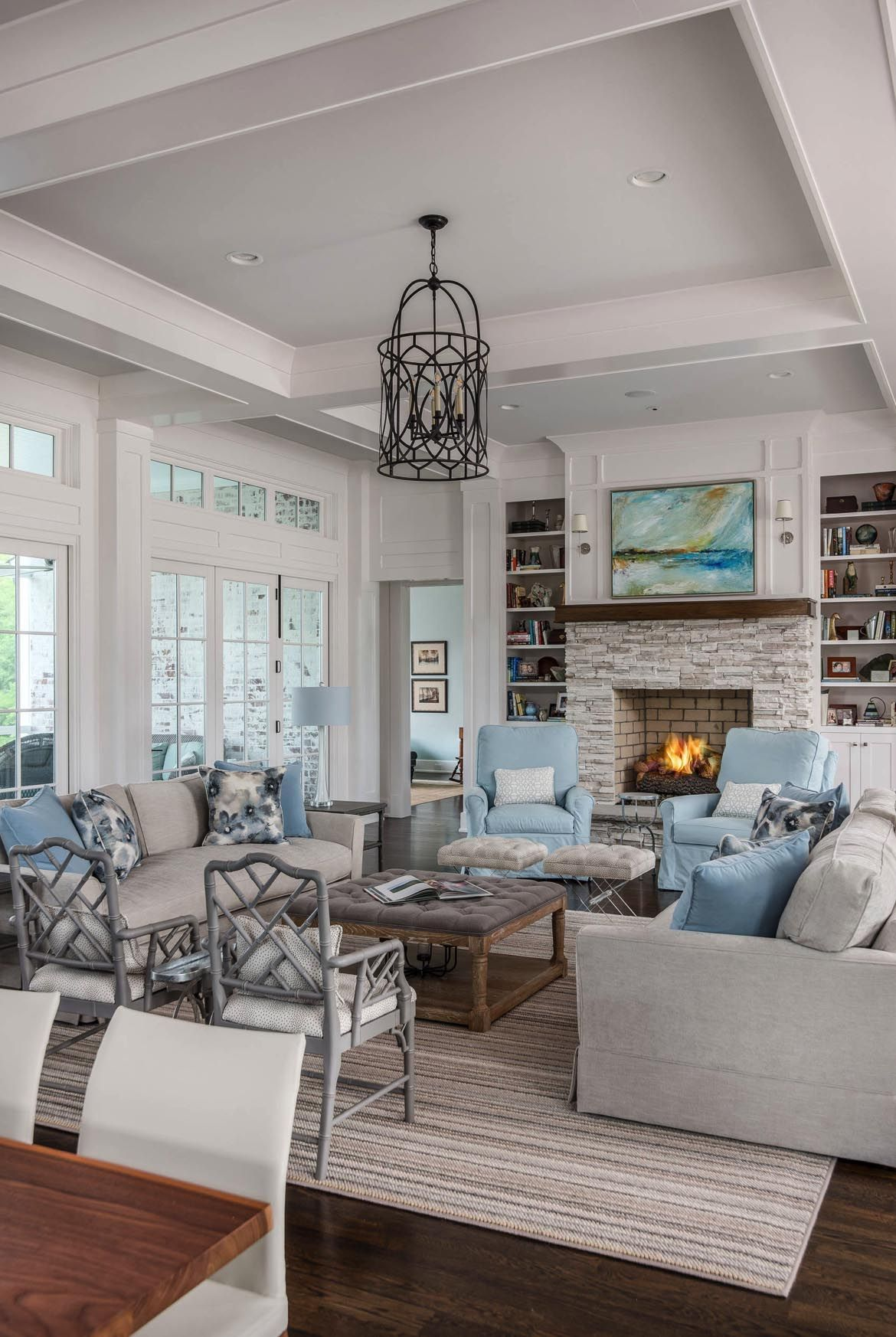 House Tour An Absolutely Gorgeous Transitional Farmhouse In Tennessee In 2020 Farm House Living Room Modern Farmhouse Living Room Farmhouse Living #transitional #farmhouse #living #room