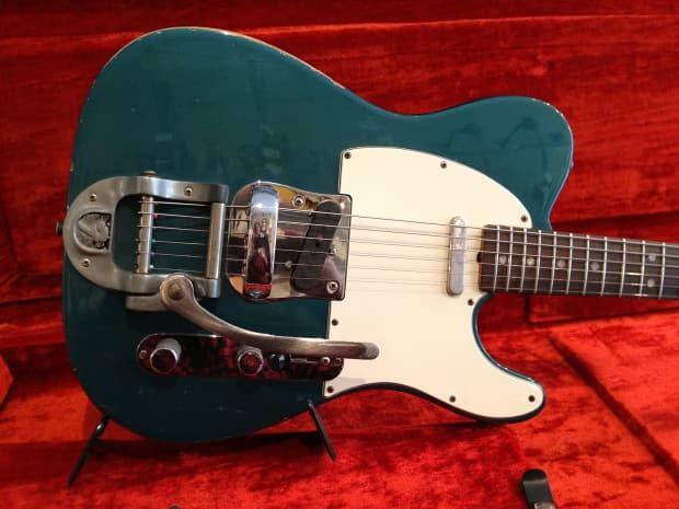 Fender telecaster 1970 Lake Placid Blue | Reverb
