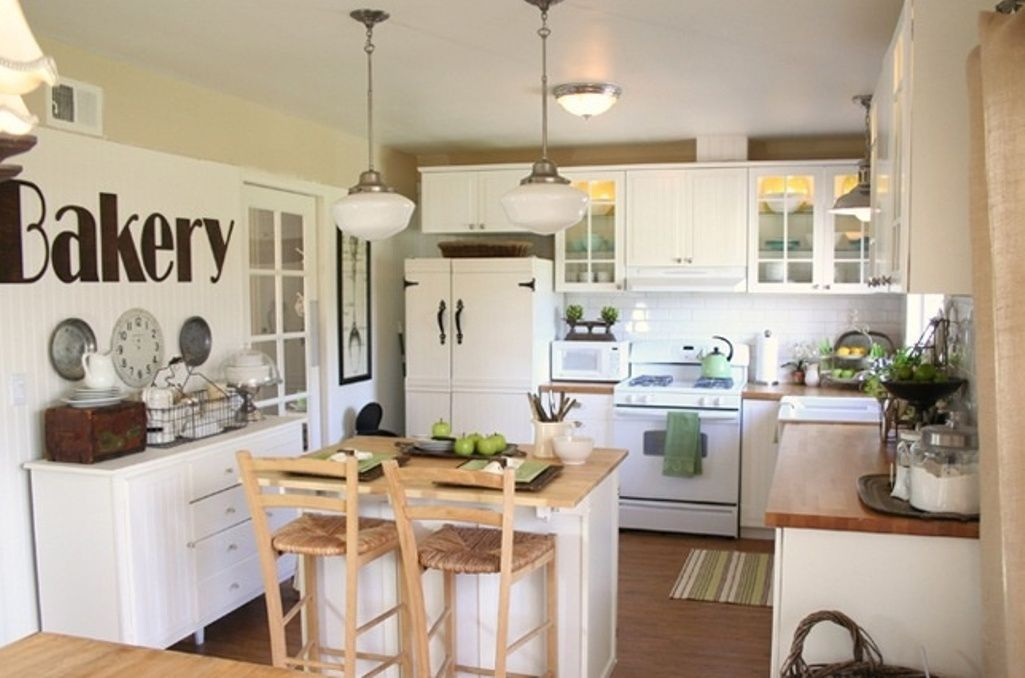 25 Amazing Small Kitchen Remodel Ideas That Perfect For Your Kitchen Kitchen Remodel Small Farmhouse Kitchen Inspiration Kitchen Renovation