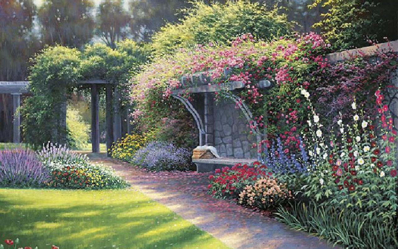 22 Ideer Fra English Gardens Fantasia Hage 400 x 300