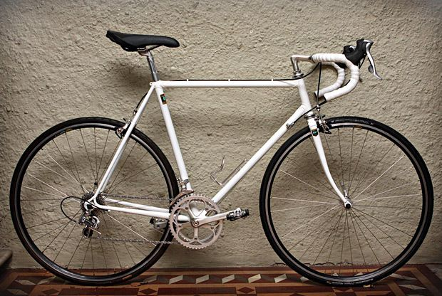 White Reynolds Vintage Road Bike Road Bike Vintage