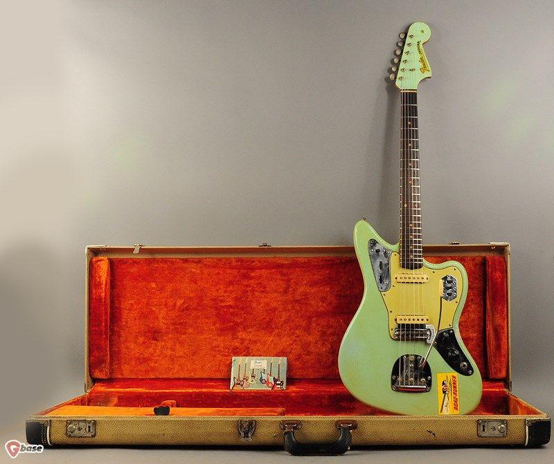 1963 Fender Jaguar sonic blue > Guitars : Electric Solid Body - imperial vintage guitars
