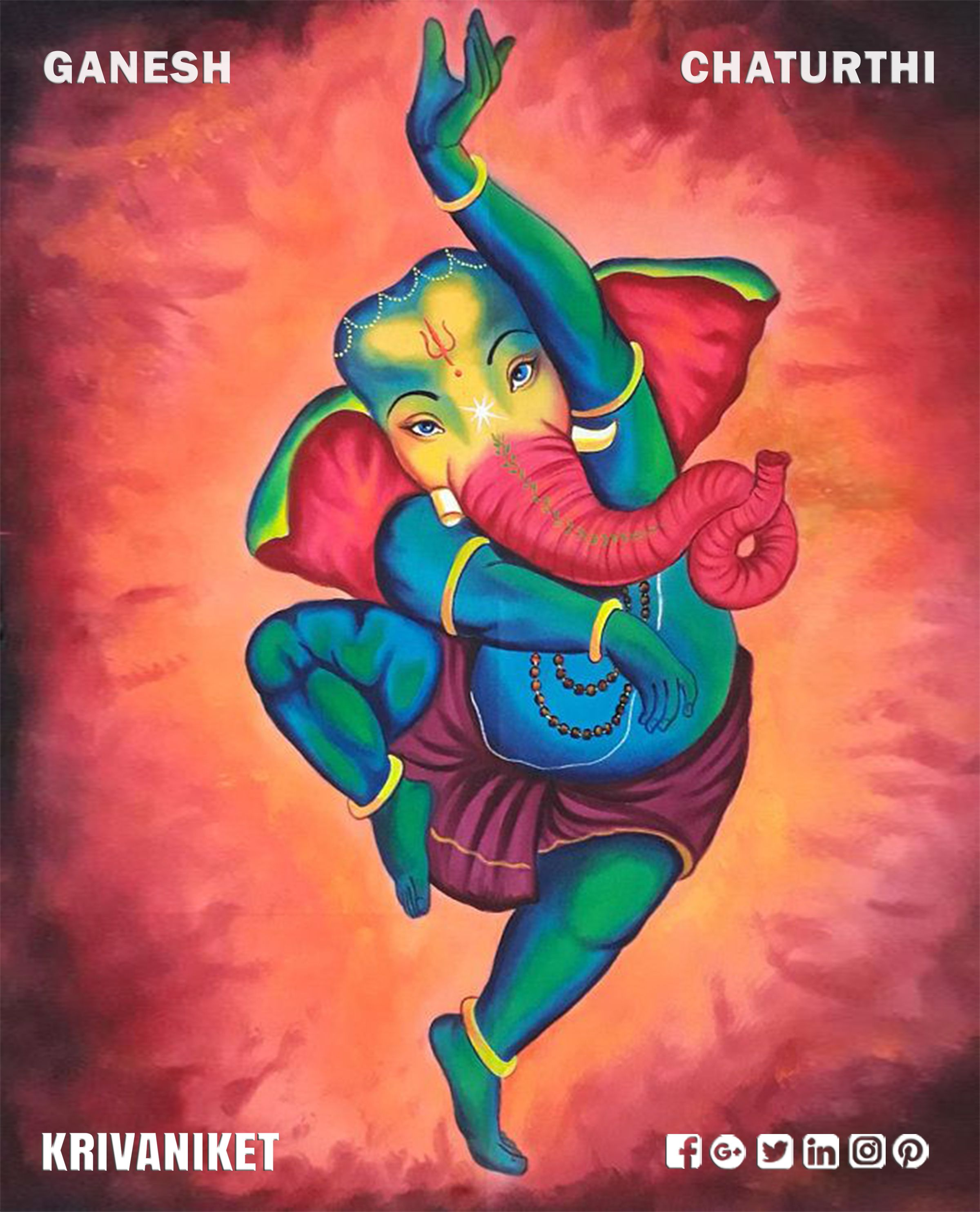 May Lord Ganesha destroy all your worries, sorrows and