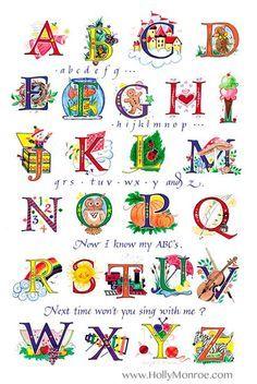 Holly V. Monroe - Alphabet