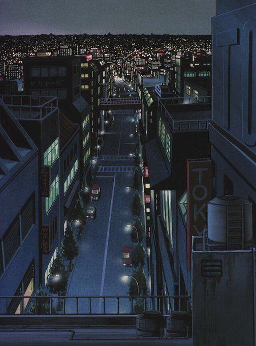 Anime Aesthetics On In 2020 Aesthetic Anime Anime City Anime