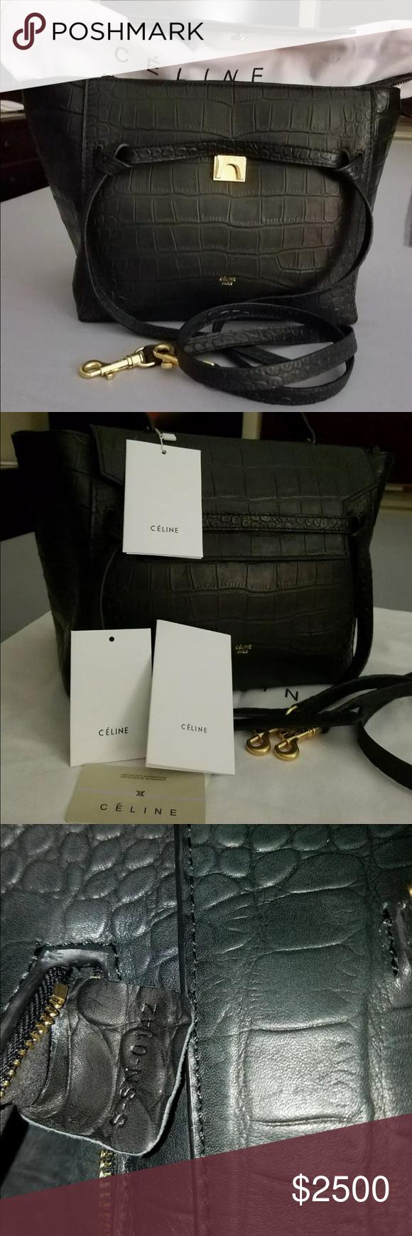 ab3696e9cbc CELINE Belt Bag Brand new CELINE Belt Bag Brand new gorgeous black embossed  leather. Brand