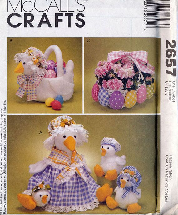 Vintage McCall/'s 2657 Craft Pattern UNCUT