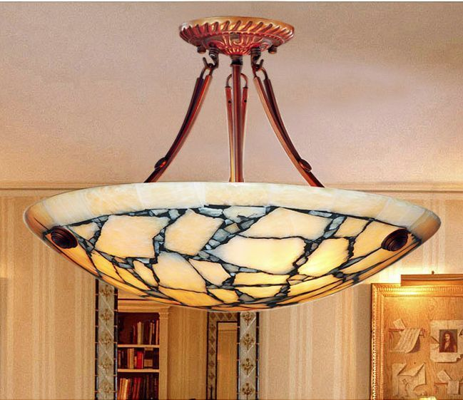 Room Dining Large Chandelier Lighting Alabaster