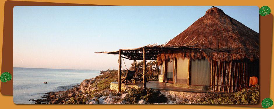 Cabanas Copal Spa & Hotel in the Riviera Maya, Mexico
