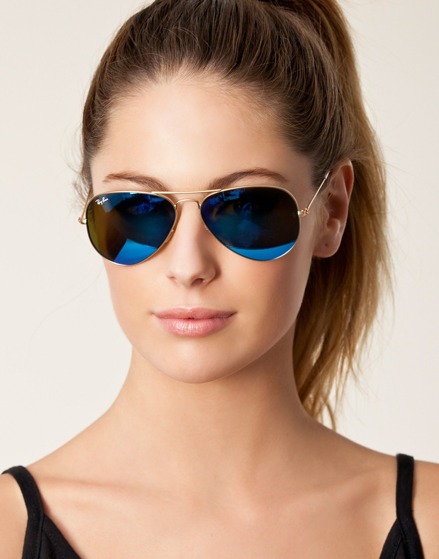 fe1953842b Sunglasses by RAY-BAN RB model 3025 in in aviator style. Description from  polyvore.com. I searched for this on bing.com images