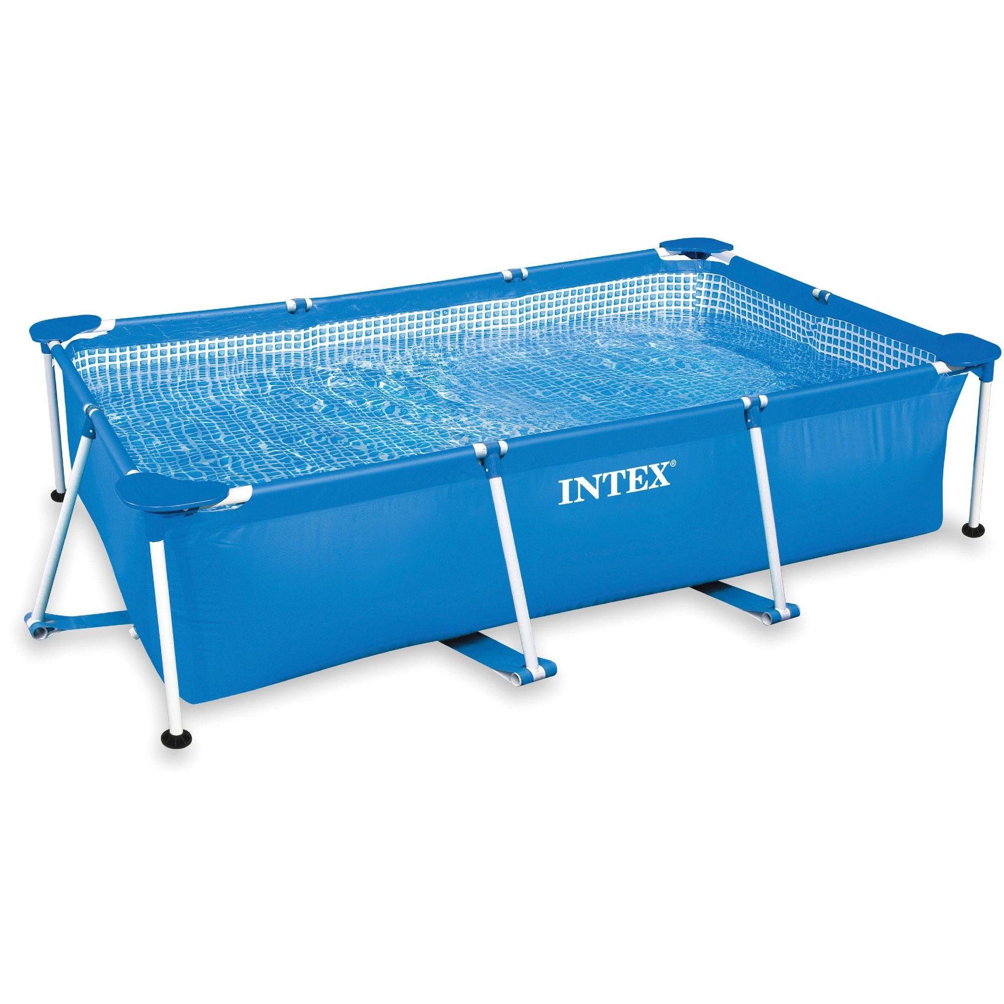 Intex 86 X 23 Rectangular Frame Above Ground Outdoor Baby Splash Swimming Pool Splash Swimming Pool Rectangular Pool Swimming Pools
