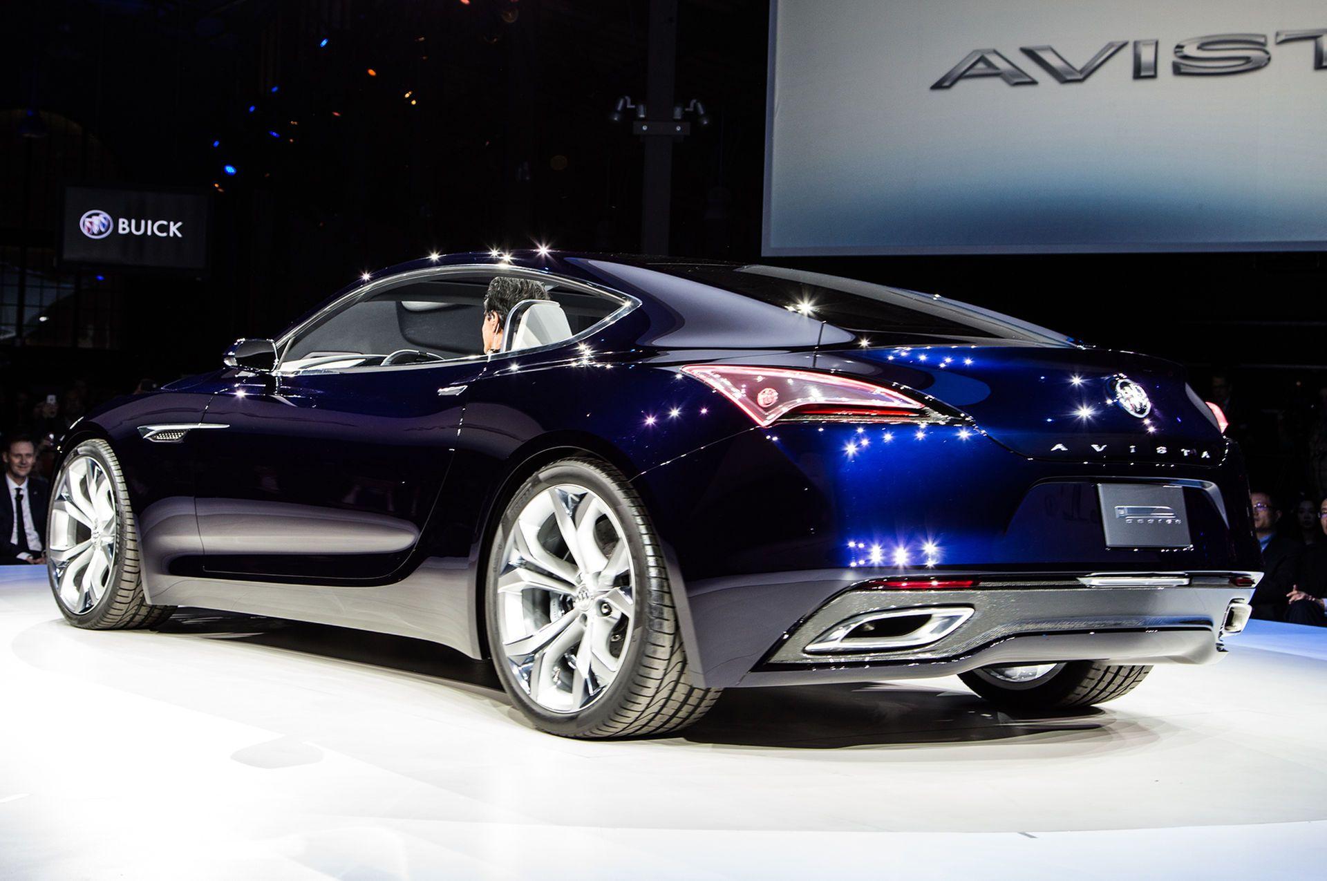 400 Hp Buick Avista Concept Debuts Ahead Of Detroit Show Buick Avista Buick Sport Cars