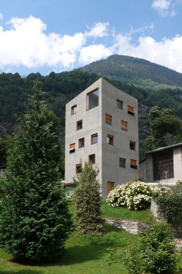Villa Garbald - miller & maranta - gottfried semper - Castasegna ...