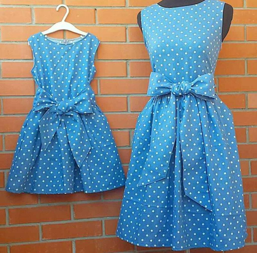 Made to Order Custom Mother Daughter Matching Dresses | MomMeMatch ...