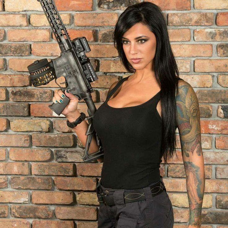 Shoottheviruschallenge, shoot the virus challenge, hot girls with guns, shoottheviruschallenge