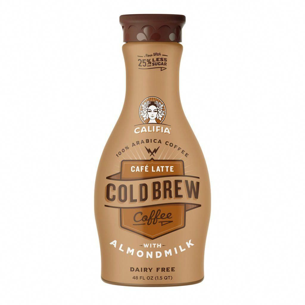 Cafe latte cold brew coffee pack califia farms cold
