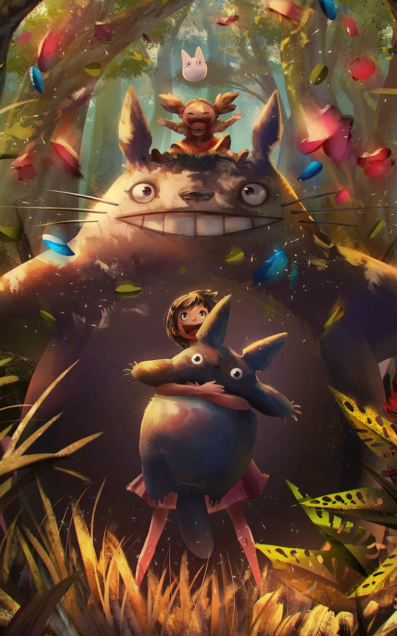 My Neighbor Totoro Wallpaper Hd 2020 Ghibli Estudio Ghibli