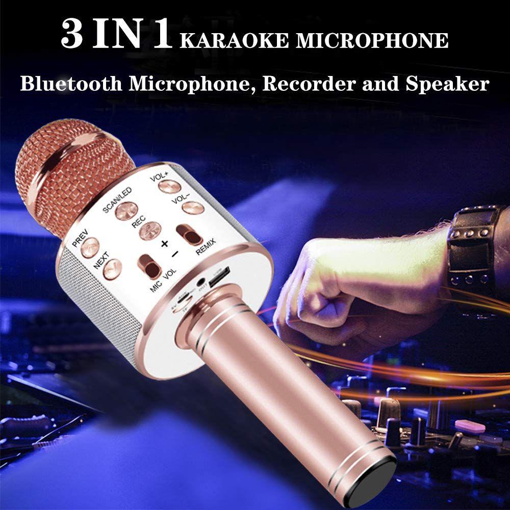 Wireless Karaoke Microphone (3 in 1) #bestkaraokemachine