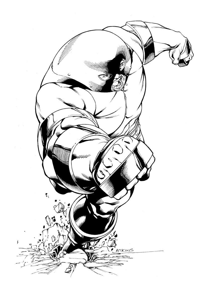 X Men Month Juggernaut Sotd By Robertatkins On Deviantart Marvel Universe Art Comic Art Fans Marvel Comics Art