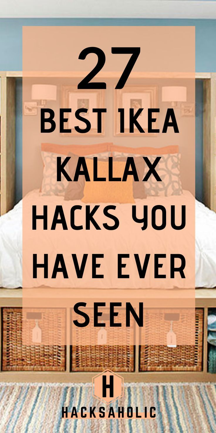 27 Ikea Kallax Hacks You Need in Your Home