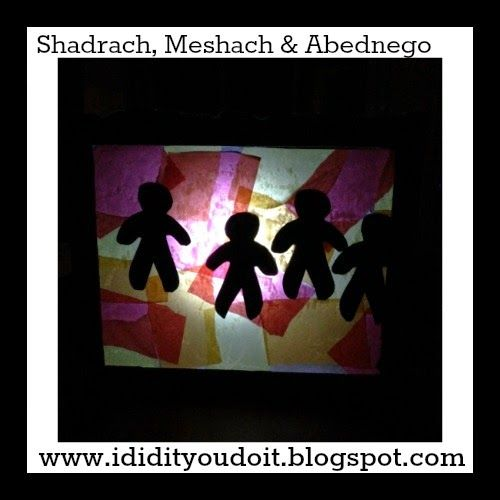 I Did It - You Do It: Shadrach, Meshach and Abednego - Social Media Plan