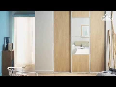 comment installer des portes de placard coulissantes ? leroy