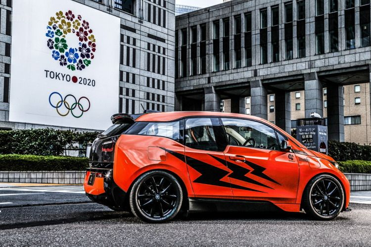 People Are Already Tricking Out The New Bmw I3 What Do You Think Of This Tuner From Japan Bmw I3 Bmw Bmw Cars
