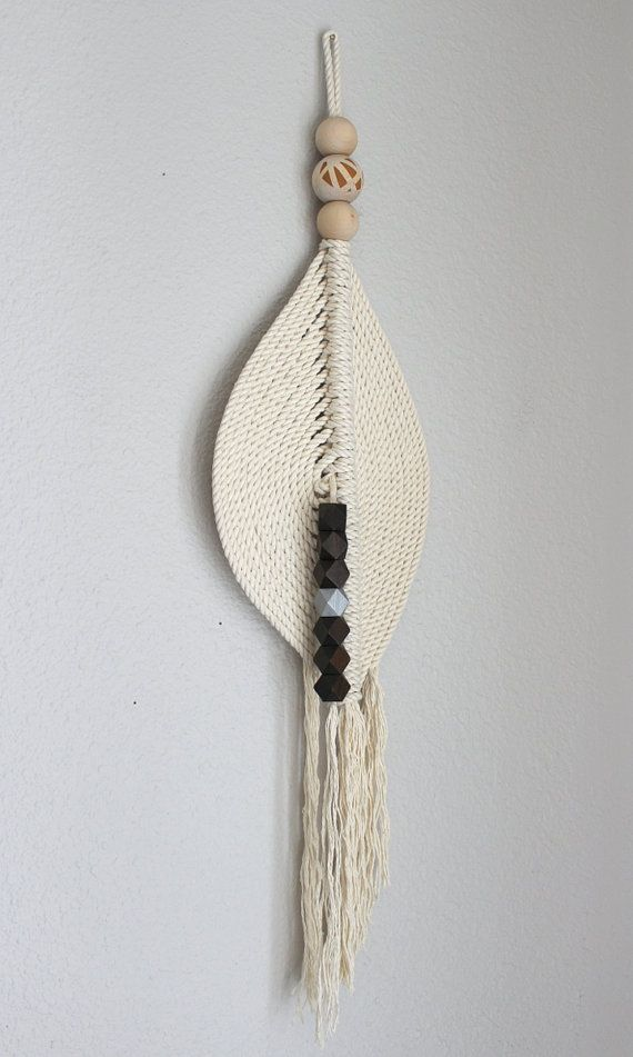 Macrame Wall Hanging The pond no.14 by HIMO ART One of by HIMOART