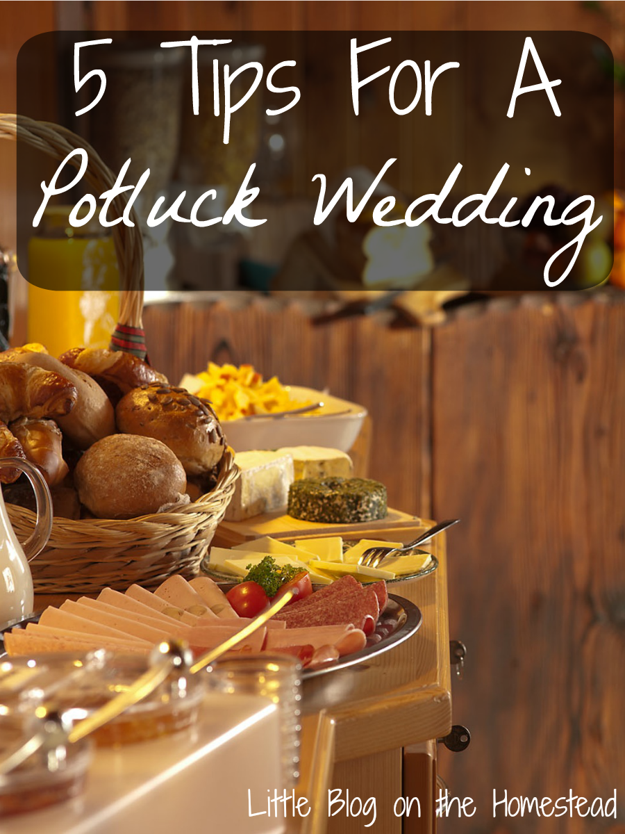 5 Tips For A Potluck Wedding July Grand Champion Post Come Check