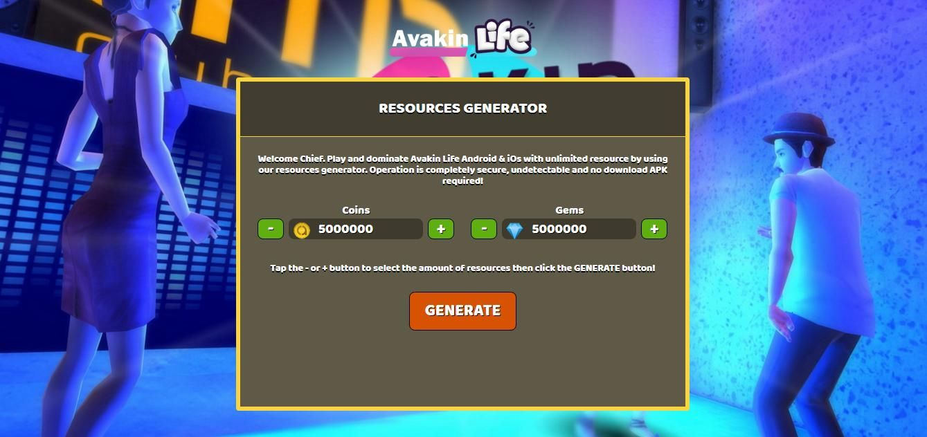 avakin life hack no human verification or survey 2018