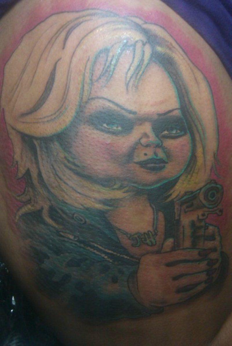 Bride of chucky tattoos bride of chuck bride of chucky for Bride of chucky tattoo