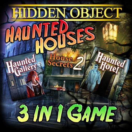 Hidden Object 3in1 Haunted Bundle Pack Object,